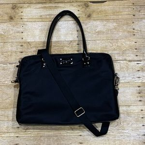 Kate Spade Daveney Laptop Shoulder Bag Black